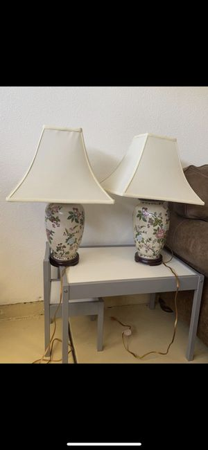 Table lamps for Sale in Tracy, CA