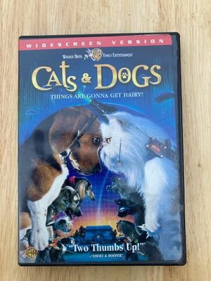 Cats & Dogs DVD Widescreen edition with commentary for Sale in Los Angeles, CA
