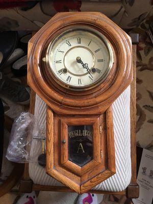 Antique Regulator A Clock for Sale in Seattle, WA