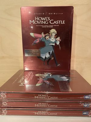 Howls Moving Castle Limited Edition Steelbook for Sale in Adelphi, MD