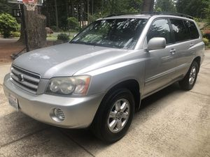 2002 Toyota Highlander for Sale in Camas, WA