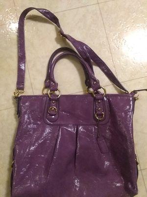 Coach purple handbag for Sale in North Tonawanda, NY