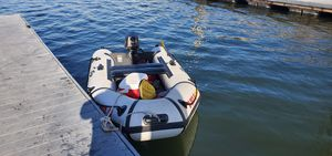 Strong 8hp Inflatable boat * Registered * for Sale in Downey, CA