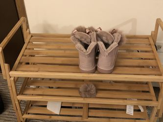 Wood Shoe Shelf (3 Layers Easy Pack And Easy Take Off) $10only! for Sale in Tinley Park,  IL