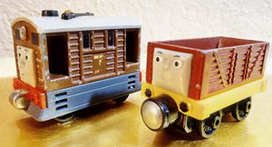 Thomas take & play Toby & troublesome for Sale in Oklahoma City, OK