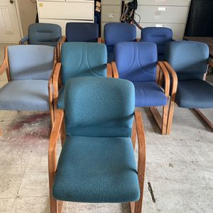 Office Chairs 20 Each Or 30 For 2 for Sale in Visalia, CA