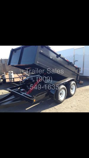 8x10x2 dump trailer $3699 for Sale in Carlsbad, CA