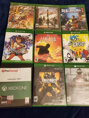Xbox One Games for Sell/Trade for Sale in Hawthorne, CA
