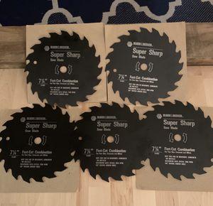 "5 — BLACK & DECKER ""Fast Cut"" Combination Blades for Sale in Gulf Breeze, FL"