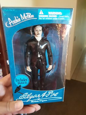 Edgar A Poe Action Figure Collectable for Sale in Yucca Valley, CA