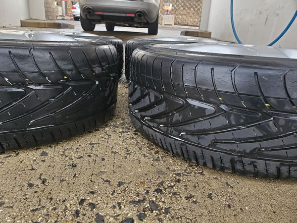 4 17 in 5x112 wheels rims and tires. 1000 miglia