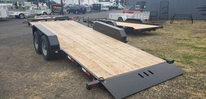 New Eagle Trailers 10k 7'x18' Tandem Axle w/ Brakes on Both (financing available) for Sale in Hillsboro, OR