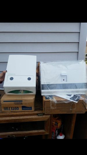 Paper towel and toilet bowl seat cover dispensers for Sale in Cleveland, OH