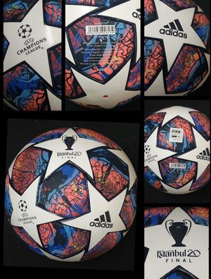 SOCCER BALL BRAND NEW MATCH BALL FIFA APPROVED CHAMPIONS LEAGUE NOT REPLICA OR TRAINING OFFICIAL SOCCER MATCH BALL SIZE 5 for Sale in Annandale, VA
