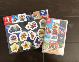 Nintendo Switch Super Mario 3D All Star Game for Sale in Chino, CA