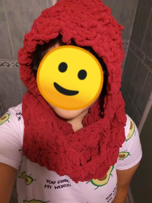 Crochet Infinity Scarf with hood for Sale in Santa Fe Springs, CA