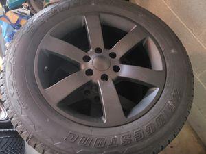 Ss Silverado rims n tires for Sale in Itasca, IL