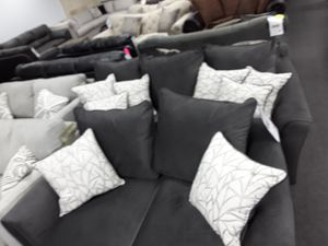 ✴✴ Dark Grey Two pc Bed room Set👍👍 for Sale in West Palm Beach, FL