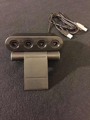 Nintendo Switch Gamecube controller Adapter with 4 controllers for Sale in Phoenix, AZ