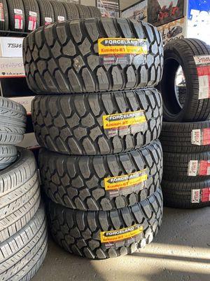 33/12.50R22 Forceland Mud Tires (4 for $700) for Sale in Santa Fe Springs, CA