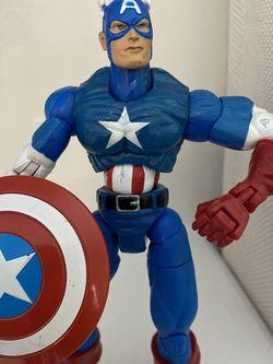 "Marvel Legends Classic Captain America 6"" figure Series 1 Toybiz 2002 RARE for Sale in Fayetteville,  NC"