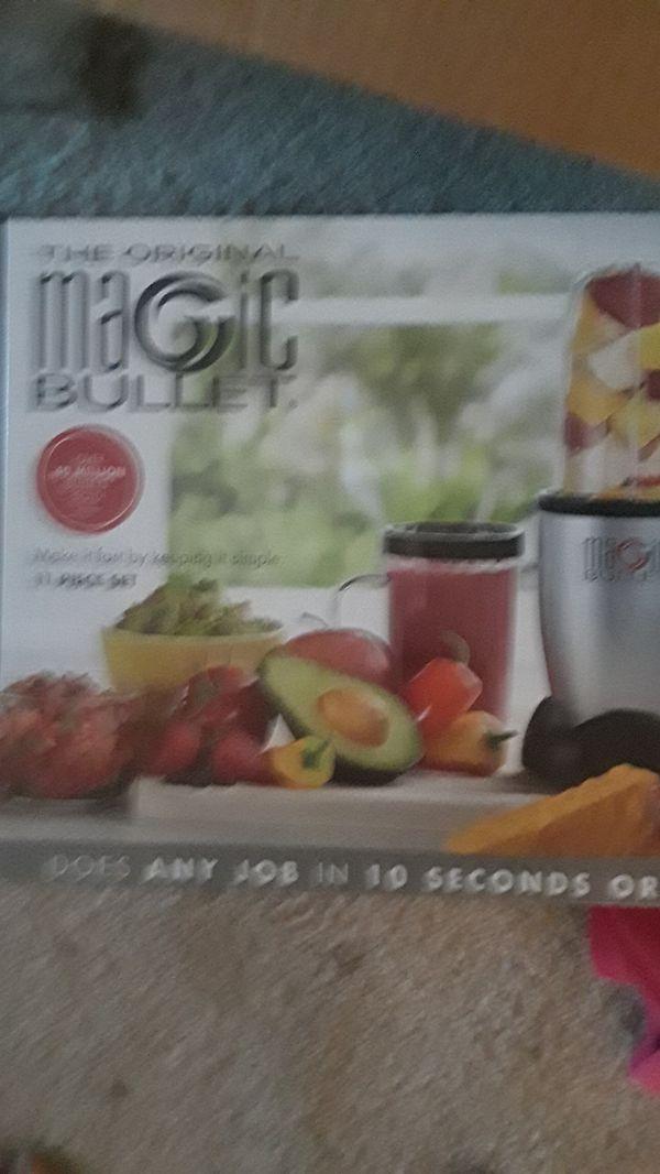 Brand new magic bullet blender