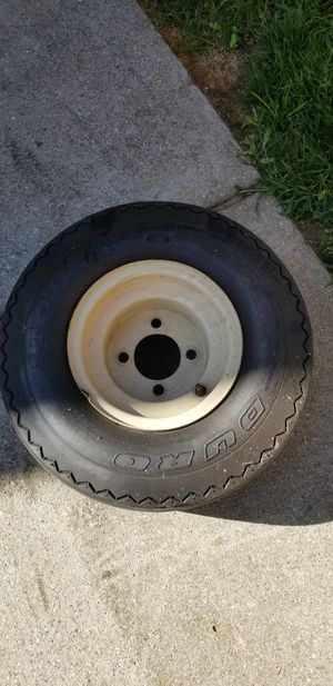 4 golf cart rims/tires for Sale in Lansing, MI