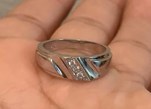 Silver ring with diamonds for Sale in Whittier, CA