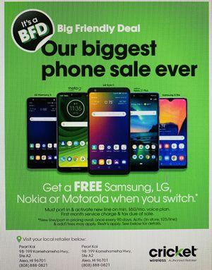 12 FREE PHONES for Sale in Honolulu, HI