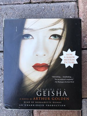 Memoirs of a geisha Audiobook CDs for Sale in Palm City, FL