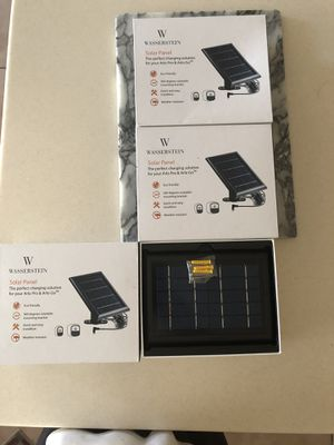 3 Solar panel for Arlo Pro and arlo GO all 3 for $150 or $60 each separate for Sale in Orlando, FL