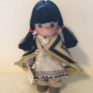 Precious Moments Nahkeen Alaska Children of the World Doll Indian Navajo Girl #1531 for Sale in Lake Stevens, WA