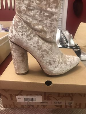 Velour heels for Sale in Raleigh, NC