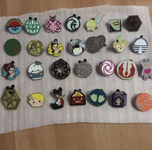 Disney pins for sale or trade most 1/2 price for Sale in Upland, CA