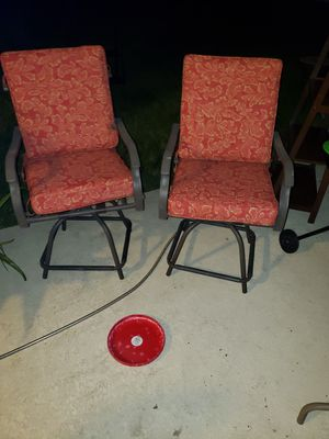 Outside chairs for Sale in Kissimmee, FL