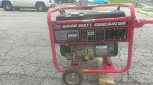 All Power 6000 Watt Generator for Sale in St. Louis, MO
