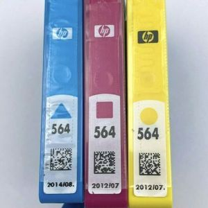 HP 564 Tri-Color Ink Cartridges Cyan Magenta Yellow N9H57FN Genuine Sealed New for Sale in Kissimmee, FL