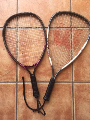 Tennis/Racked ball rackets (two) for Sale in Miami, FL