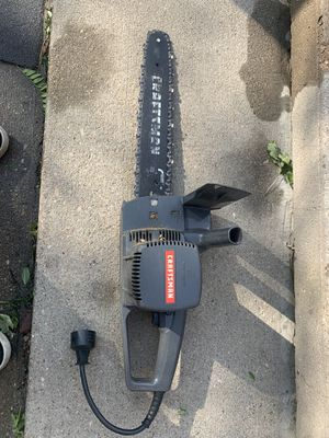 Craftsman Electric chainsaw for Sale in Centerville, UT