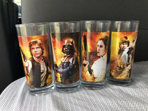 Star Wars drinking glasses. New, but no box. for Sale in Tampa, FL