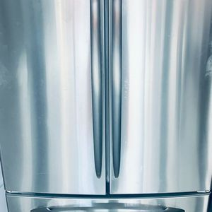 """GE Profile 33"""" French 3 Door Refrigerator (Stainless Steel)-PRICE IS FIRM for Sale in Lilburn, GA"""