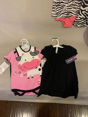 Black dress and pink body suit for Sale in Hayward, CA