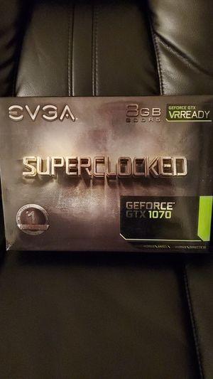NVIDIA GTX 1070 8GB SUPERCLOCKED for Sale in Miami, FL
