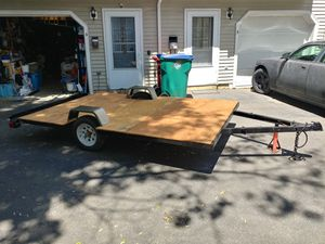6'×10' UTILITY TRAILER. for Sale in Lowell, MA