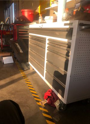 Tool box with tools for Sale in Las Vegas, NV