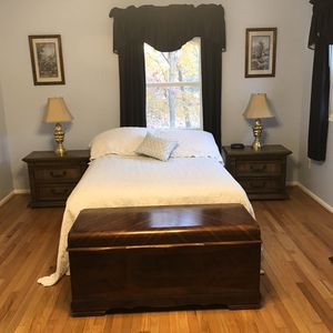 Double mattress, box springs and bed frame for Sale in Fort Washington, MD