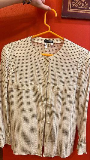 Giorgio Armani Creme silk blouse for Sale in Manassas, VA