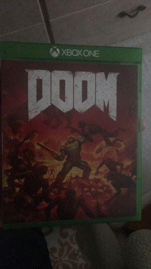 Doom Xbox One for Sale in Renton, WA