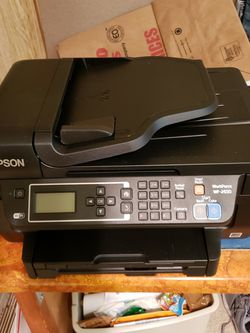 Epson WF-2650 All-In-One Wireless Printer, Fax, Scanner, and Copier for Sale in Tigard,  OR