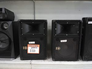 YAMAHA SPEAKERS for Sale in Houston, TX
